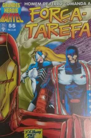 Grandes Herois Marvel #55 -1a Serie Ed. Abril - Força Tarefa