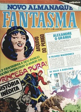 Novo Almanaque do Fantasma #27 - Ed. RGE