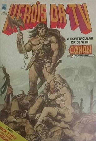 Herois da TV #40 - Ed. Abril Conan