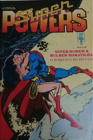Super Powers #16 - Ed. Abril Super-Homem Mulher Maravilha