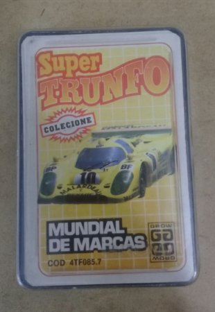 SUPER TRUNFO MUNDIAL DE MARCAS - GROW