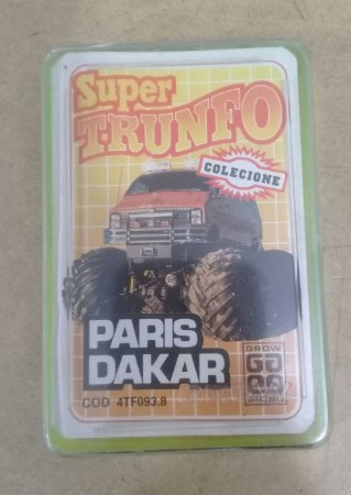 SUPER TRUNFO PARIS DAKAR - GROW