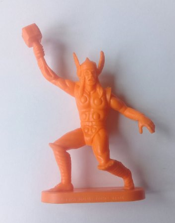Gulliver Thor Laranja - Vingadores Marvel Antigo Vintage