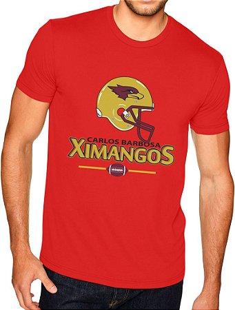 Camiseta Passeio Masculina Vermelha 2018