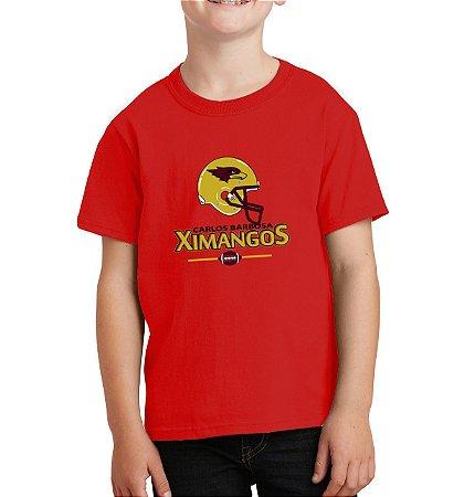 Camiseta Passeio Infantil Vermelha 2018