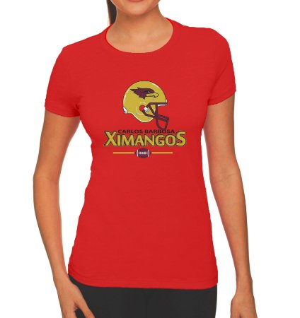 Camiseta Passeio Feminina Vermelha 2018