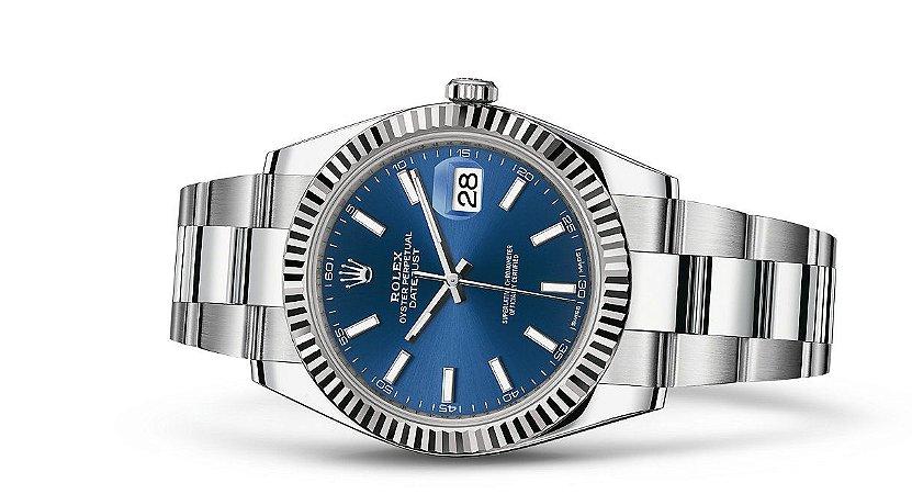 8c3232e01fb Relógio Rolex Datejust 41  Rolesor branco - Convert Shop