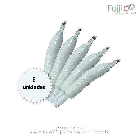 5 unidades - Lâmina Tebori GR Colors 12 Pontas Flex