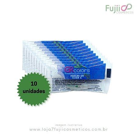 10 Unidades  - Agulha GR CLICK-C 5 Pontas Linear