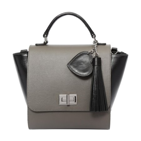 Bolsa de Couro Griffazzi Gray