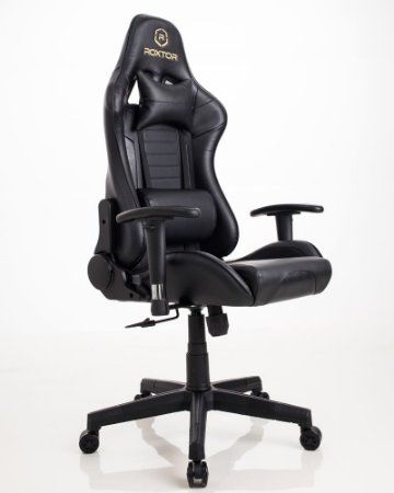 Cadeira gamer Ergonômica Dark Preta Roxtor 5035