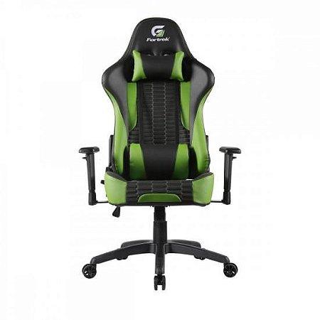 Cadeira Gamer Cruiser Preta/Verde FORTREK