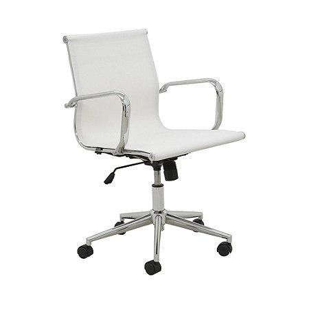 Cadeira Para Escritório Sevilha Baixa - Branco
