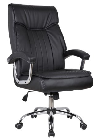 Cadeira Escritório Presidente Siena - Molas Ensacadas
