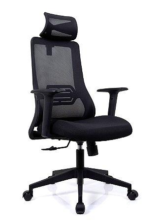 Cadeira De Escritório Presidente Estocolmo - Ergonômica