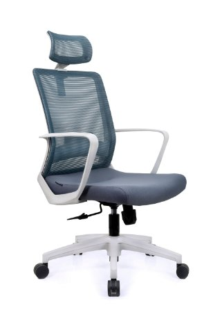 Cadeira De Escritório Presidente Toronto Cinza - Anatômica