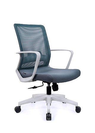 Cadeira De Escritório Secretária Toronto - Cinza