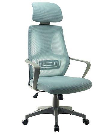 Cadeira De Escritório Presidente Telavive Cinza - Anatômica