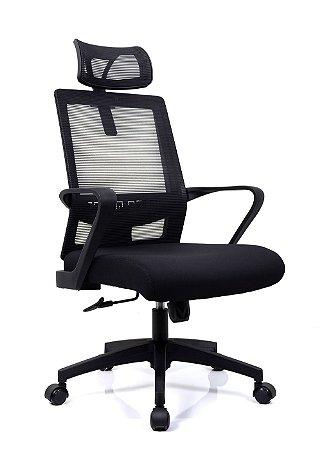 Cadeira De Escritório Presidente Cairo - Anatômica