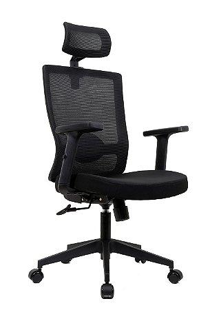 Cadeira De Escritório Presidente Oslo - Ergonômica