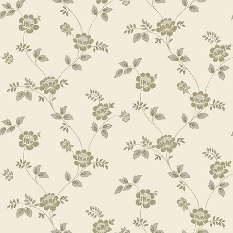 Papel de parede Flower Time (clássico) - Cód. FF202-04