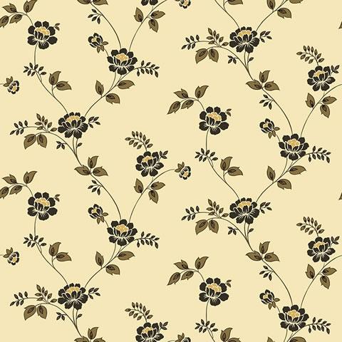 Papel de parede Flower Time (clássico) - Cód. FF202-05
