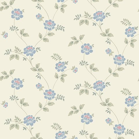 Papel de parede Flower Time (clássico) - Cód. FF202-10
