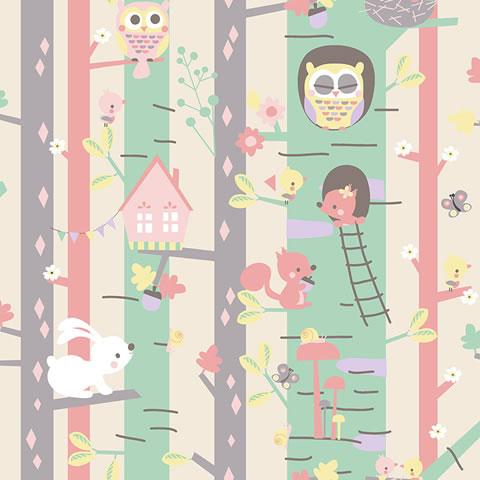 Papel de parede My Adventures (Infantil) - Cód. MA66116