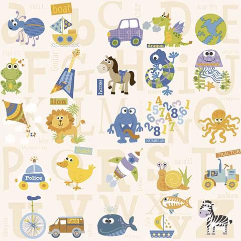 Papel de parede My Adventures (Infantil) - Cód. MA66131