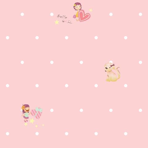 Papel de parede Girl (Infantil) - Cód. GB70901