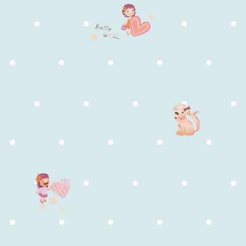 Papel de parede Girl (Infantil) - Cód. GB70904