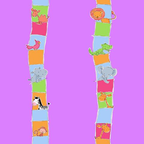 Papel de parede Safari Frieds (Infantil) - Cód. SF6211