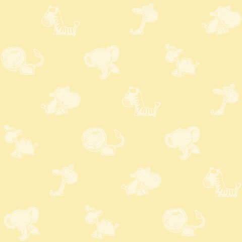 Papel de parede Safari Frieds (Infantil) - Cód. SF6221