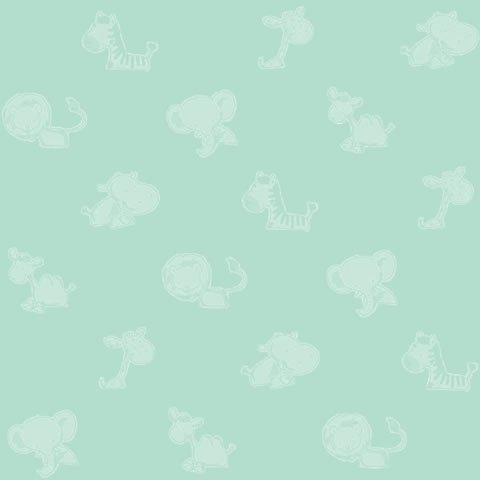 Papel de parede Safari Frieds (Infantil) - Cód. SF6222