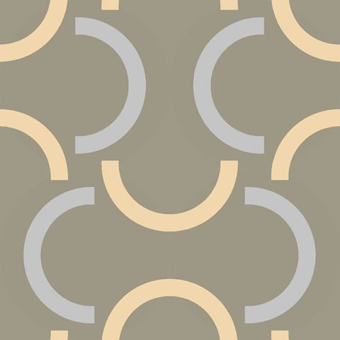 Papel de parede Hoops (Moderno) - Cód. HP7507