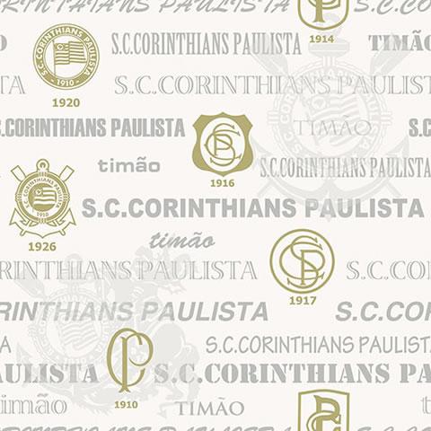 Papel de parede corinthians (Time) - Cód. SC 302-03