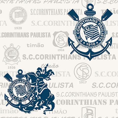 Papel de parede corinthians (Time) - Cód. SC 302-04
