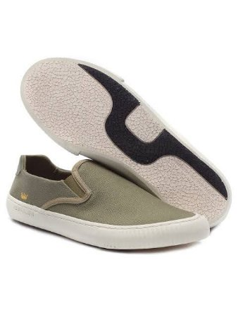 TÊNIS CANVAS SLIP ON BASICO MASC
