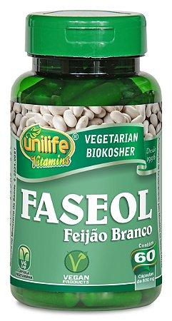 Faseol Feijão Branco - 60 cápsulas - Unilife Vitamins