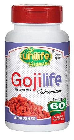 Goji Life Premium - 60 cápsulas - Unilife Vitamins
