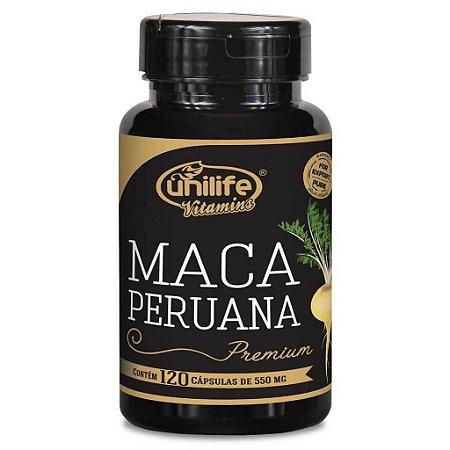 Maca Peruana Premium - 120 cápsulas - Unilife Vitamins