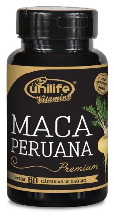 Maca Peruana Premium - 60 cápsulas - Unilife Vitamins