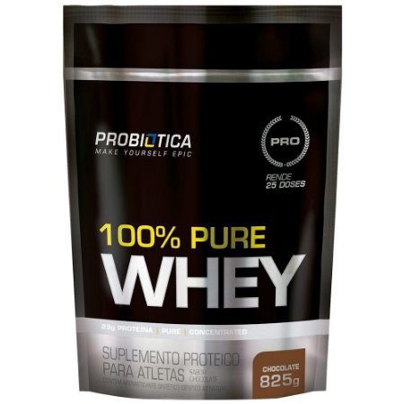 100% Pure Whey - 825g - Chocolate - Probiótica