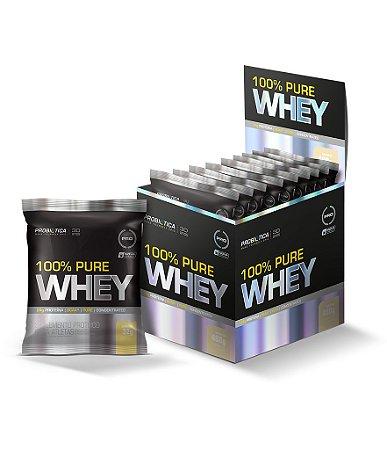 100% Pure Whey - 15 sachês - Baunilha - Probiótica