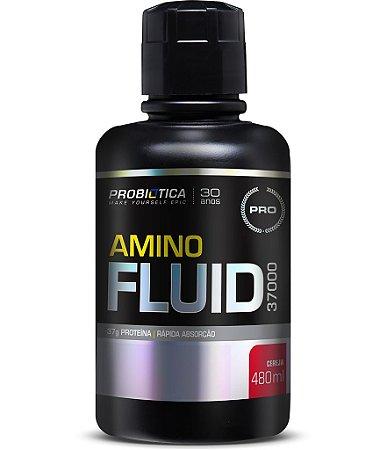 Amino Fluid 37000 - 480ml - Cereja - Probiótica