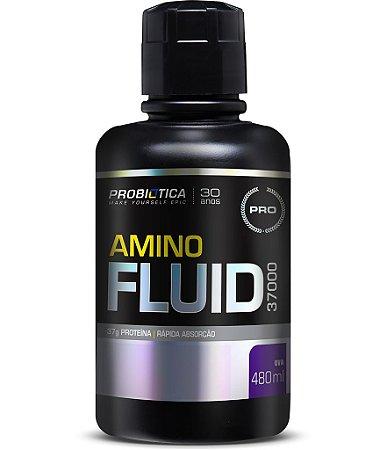 Amino Fluid 37000 - 480ml - Uva - Probiótica