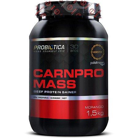 Carnpro Mass - 1500g - Morango - Probiótica