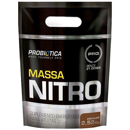 Massa Nitro - 2520g - Chocolate - Probiótica
