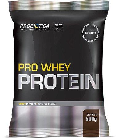 Pro Whey Protein - 500g - Chocolate - Probiótica