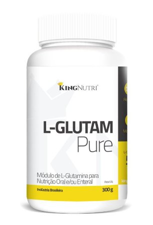 L-Glutam Pure - 300g - King Nutri